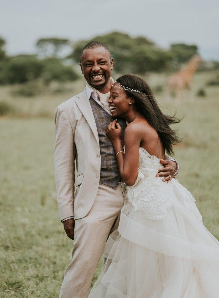 March Top Pic joyful couple Uganda wedding