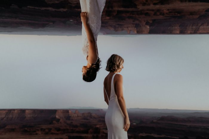 March Top Pic artistic same sex wedding photo