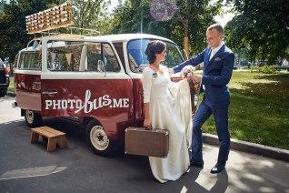 Декорация для свадебной съёмки