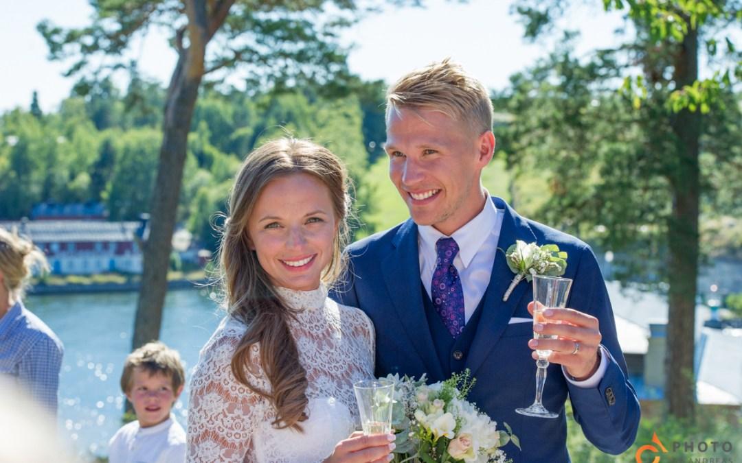 Bröllop på Värmdö