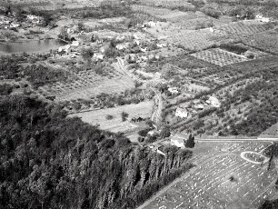 Aerial views of G'town 1948 2