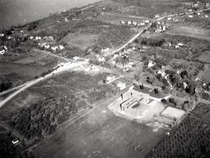 Aerial views of G'town 1948 4