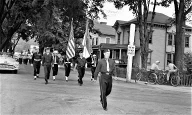 Am. Legion Parade in Chatham 1956 (2)