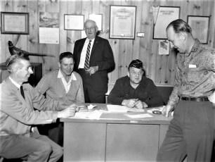 Am. Legion Post 346 G'town Com. Edgar DeWitt 1961