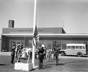American Legion Presenting Flags to County Schools 1973 (5)