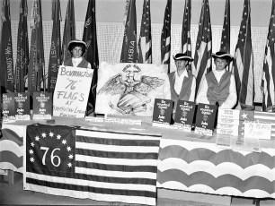 American Legion booth at Col. Cty. Fair 1975