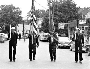 Memorial Day 1960 Bud & Warren Bohnsack with rifles