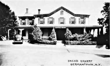Jacob Eckert Central House post card