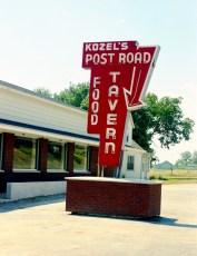 Kozel's Post Road Tavern Rt. 9H W. Ghent 1966 (1)