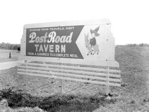 Kozel's Post Road Tavern W. Ghent 1958 (2)