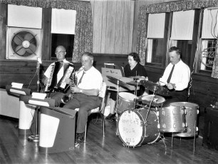 The Phil Dedrick Band at Blue Gables 1968