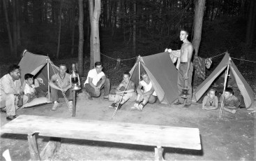 Boy Scout Troop 132 Livingston on a 4 day camp out 1961 (2)