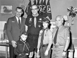 Cub Scout Pack 117 Blue & Gold Dinner Valatie 1972 (3)