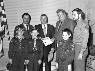 Cub Scout Pack 122 Blue & Gold Dinner G'town 1972 (1)