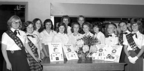 Girl Scout Cachette Troop 319 G'town 1964