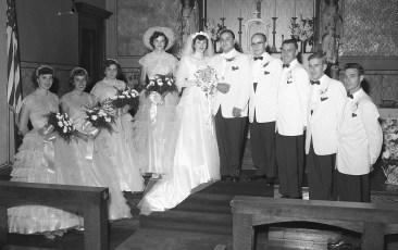 1955 Ms. Mae Pulich & Mr. Ham (2)