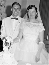 1956 Joan Benton & Neal Burger (1)