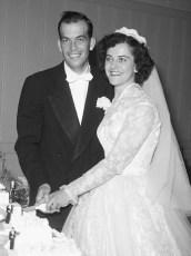 1956 Shirley Dingman & John  Mullins (1)