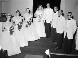 1957 Joyce Buck & William Coxeter (2)