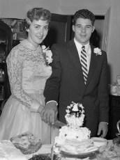 1957 Kitty VanVliet & Mr. Taylor (2)