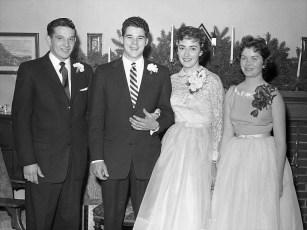 1957 Kitty VanVliet & Mr. Taylor (3)