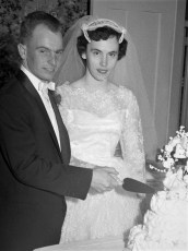 1958 Patricia Clapper & Kenneth Miller (1)