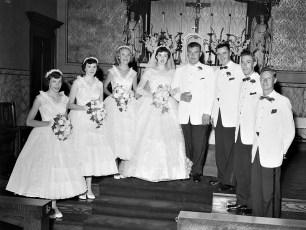 Kathy Hoflinger & Phil Ackert 1955 (4)