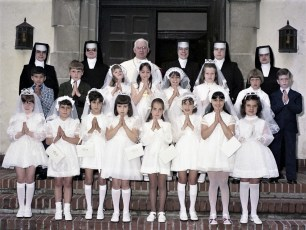 Church of the Resurrection 1st Communion G'town 1975