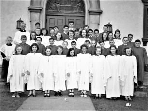 Church of the Resurrection Confirmation 1953 (4)