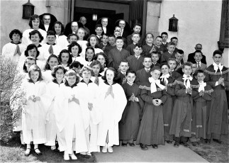 Church of the Resurrection Confirmation G'town 1957