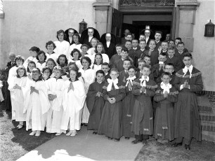 Church of the Resurrection First Communion G'town 1957