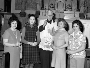 Church of the Resurrection Rosary Society G'town 1973
