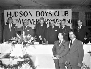 Hudson Boy's Club burning the mortgage 1950