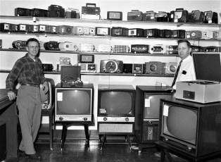 Niver's Radio Shack Hudson 1954
