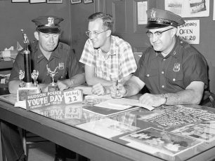 5th Annual Hudson Police Youth Day  Aug. 1959 (1)