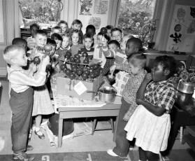 Allen Street School Hudson 1957