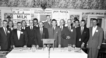 Dairy Farmers of America Dinner General Worth Hotel Hudson 1956