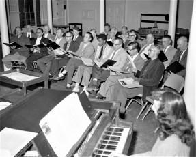 Hudson Presbyterian Church Male Chorus 1957