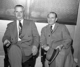 Mr. Dewey Lawrence & Mr. Dolan Hudson 1955