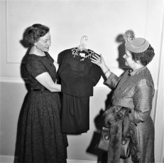 Professional Business Woman's Group displaying fashions Hudson 1957 (2)
