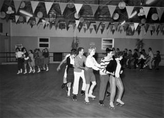 Am. Leg. Jr. Drum & Bugle Corp  Thunderbirds at Skatarama 1961 (3)