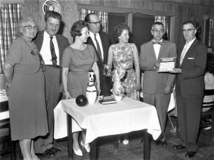 Ball & Chain Bowling Club Banquet at Kozals 1961