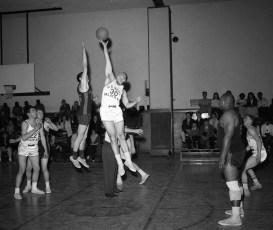 City of Hudson Mens Basketball Game 1963