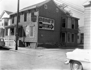 Deno's building 8th Street Hudson 1961 (2)