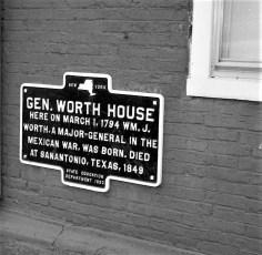General Worth House Hudson 1963 (2)