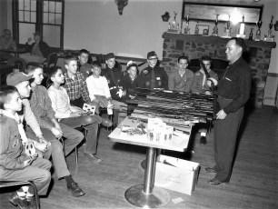 Hudson Fish & Game Club Dean Delp, Pres. 1961 (1)