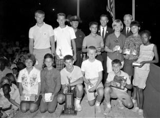 Hudson Police Dept. Youth Day 1964 (4)