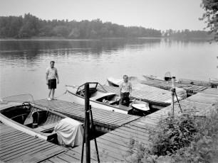 Hudson Power Boat slips 1964