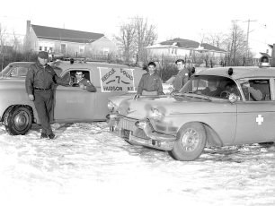 Hudson Rescue 7 & Greenport Rescue joint disaster tests 1960 (4)