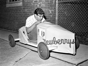 J. J. Newberry's Soap Box Derby entry 1960